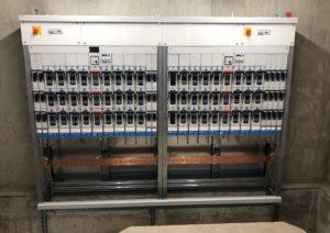 Tableau de distribution 2 x 630 kVA avec couplage  EN 61439-5