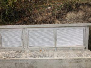 Station transformatrice : entrée du transfo sans enlever le toit