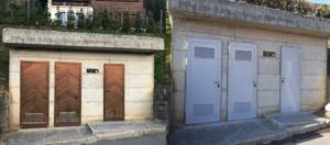 Remplacement de portes en bois